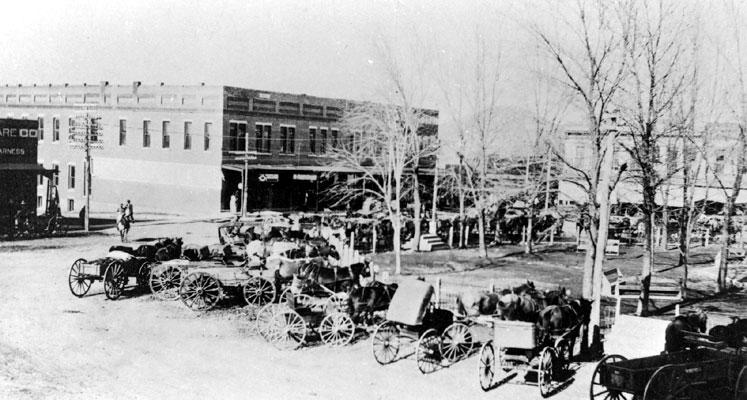 Berryville Square 1925