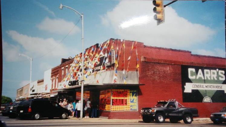 Carr Building 1980's