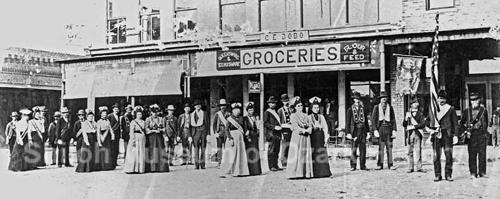 Odd Fellow's Parade Late 1890's ?