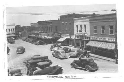 Berryville Square late 1940's
