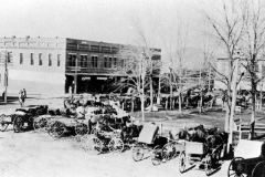 Berryville Square early 1900's